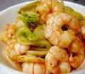 Stir-fried Prawn & Kimchi