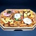 Four kinds of potato platter