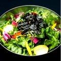 Korea green onion salad