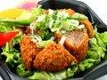Negishio 黒毛和牛ハンブルク チキンカツ丼