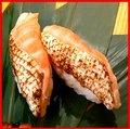 2 pieces of aburitoro salmon