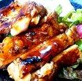 Alohachkin plate with Teriyaki sauce