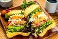 トリオ卵サンドイッチ