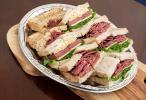 Boston style sandwich plate