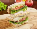 Spicy Shrimp avocado sandwich