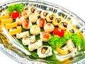 IRODORI-temari & Sesame ROLL sushi