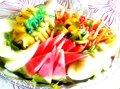 Seasonal fruit platter size L