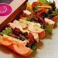 【サンド&サラダBOX】鴨パストラミ&クリームチーズ&トマト