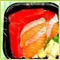 Tuna salmon Bowl