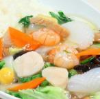 Seafood Chop-Suey Don
