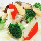 野菜の塩味炒め