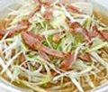 Onion BBQ pork noodle