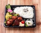 Fried smoked chicken lunch box