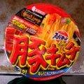 Super Cup pork kimchi ramen
