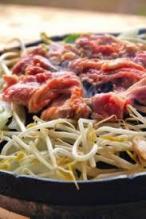 Grated daikon with Ponzu sauce beef steak Don