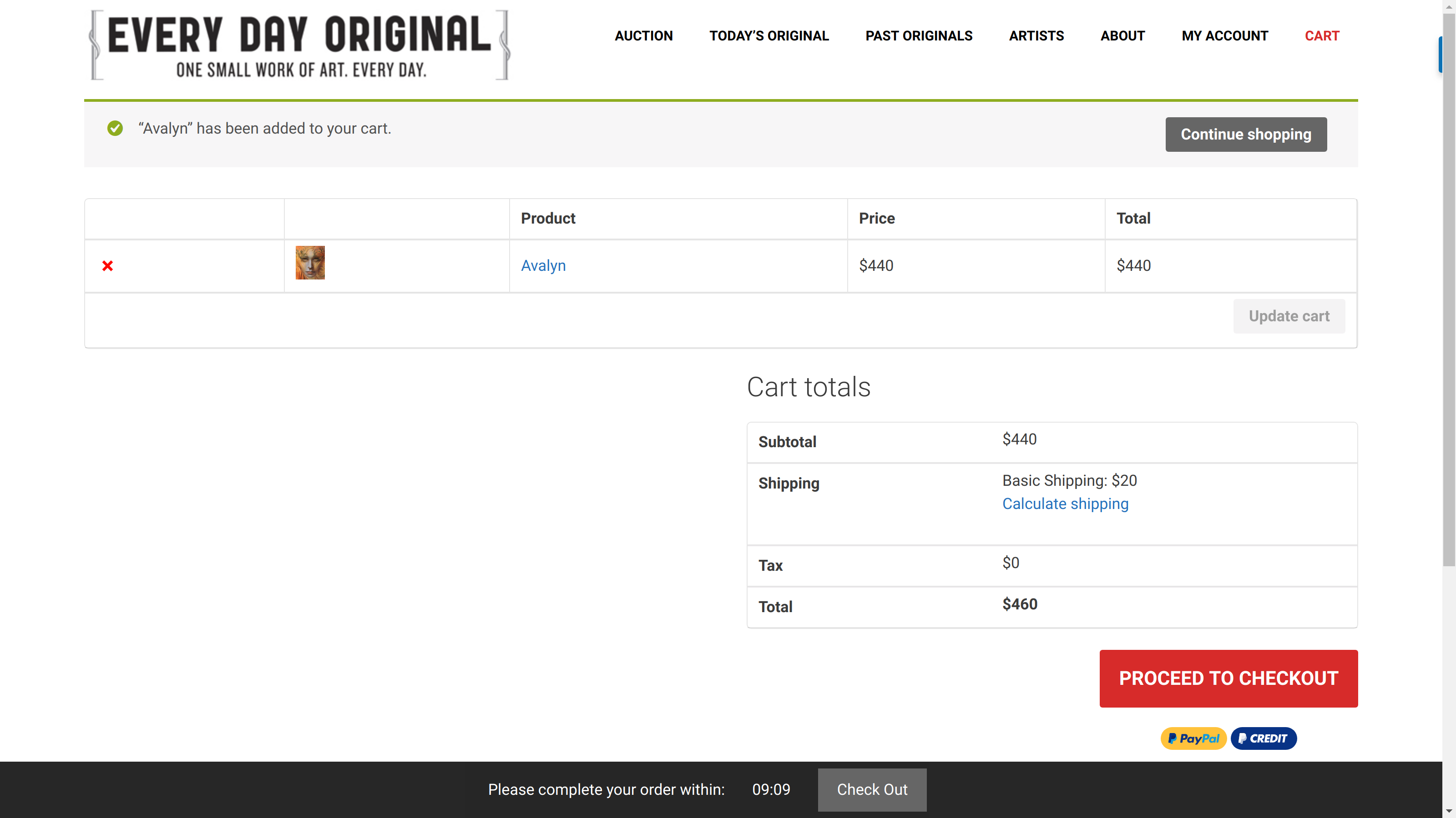 woocommerce timed checkout