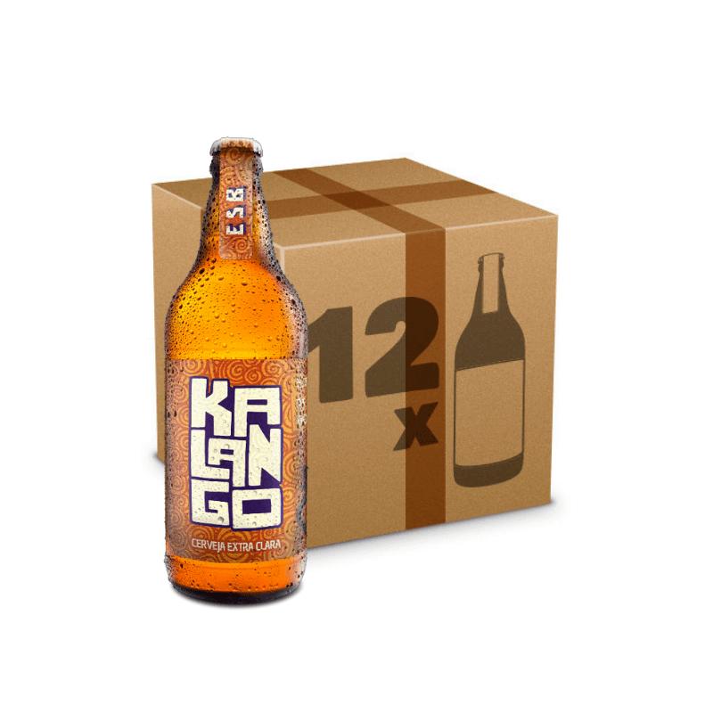 Caixa de Cerveja Kalango - 12 Garrafas