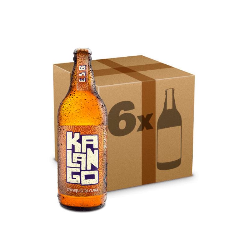Caixa de Cerveja Kalango - 6 Garrafas