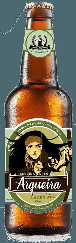 Cerveja Arqueira - Lager 500ml