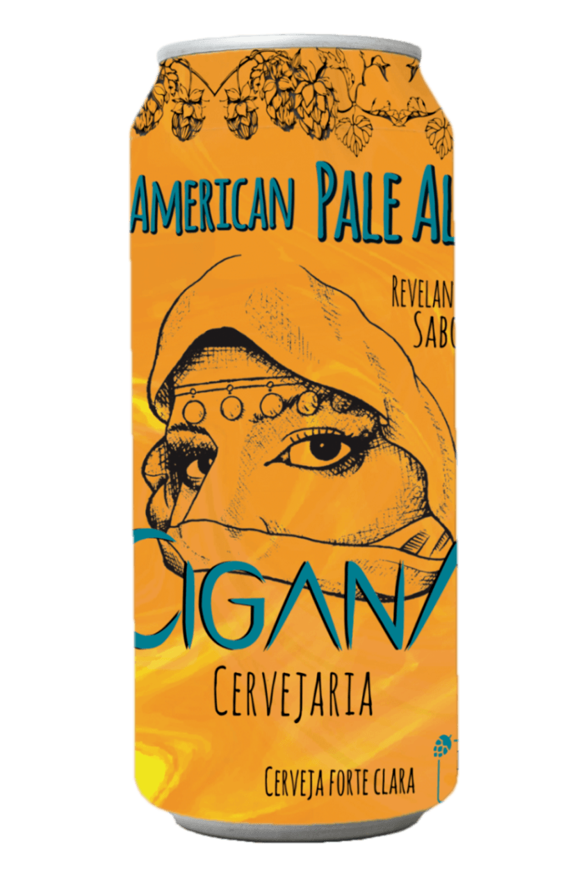 Cerveja Cigana Coruja APA 473ml