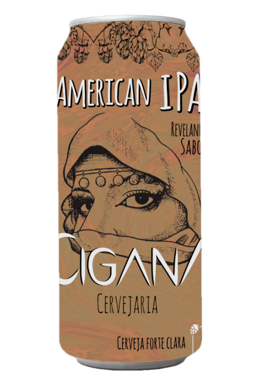 Cerveja Cigana Punhal IPA 473ml