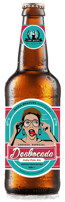 Cerveja Desbocada - IPA 500ml