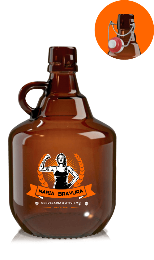 Growler Maria Bravura - 2 Litros
