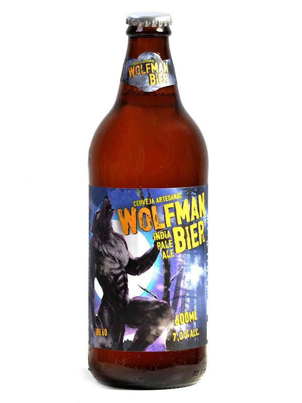 Wolfman Bier India Pale Ale - 600ml