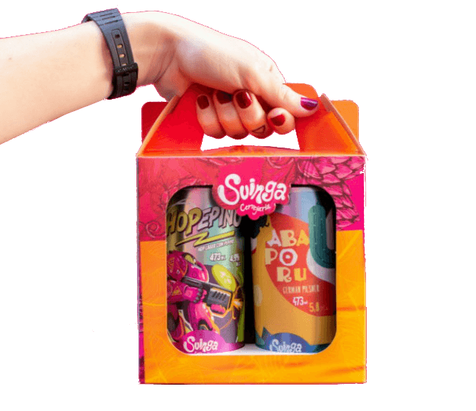 Kit Presente Suinga - 2 Latas 473ml