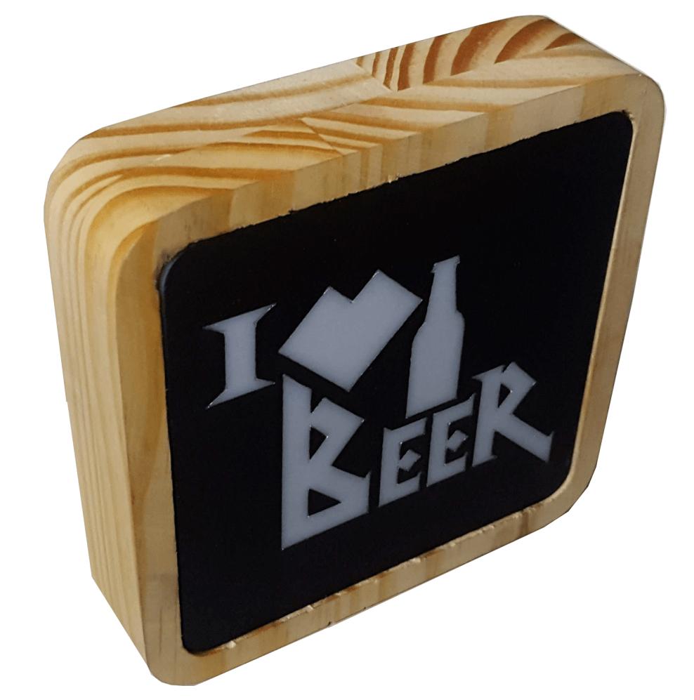 Mini Luminaria I _ Beer