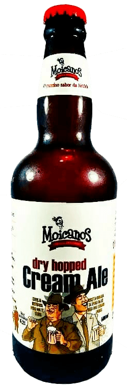 Moicanos Dry Hopped Cream Ale 500ml