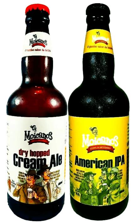 Pack 2 cervejas Moicanos