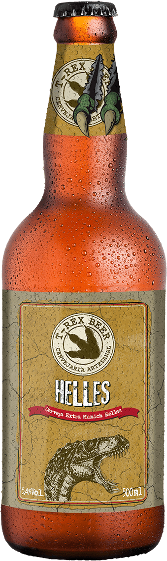 T-Rex Beer Helles 500ML