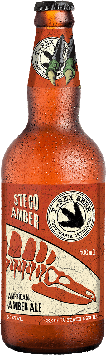T-Rex Beer Stego Amber 500ML