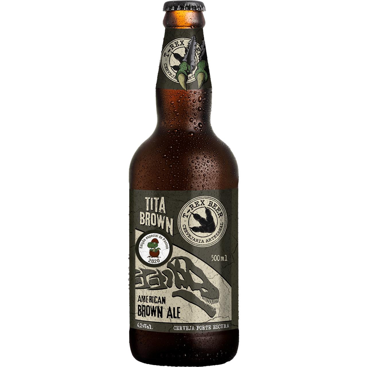 T-Rex Beer Tita Brown Edição de Páscoa 500ML