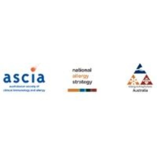 ASCIA, National Allergy Strategy and Allergy & Anaphylaxis Australia.