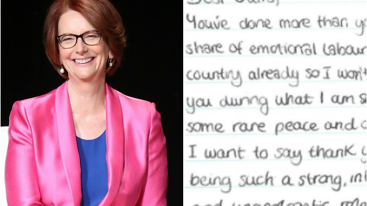 """""""You smashed that glass ceiling."""" The letter to Julia Gillard we all wish we could sign."""