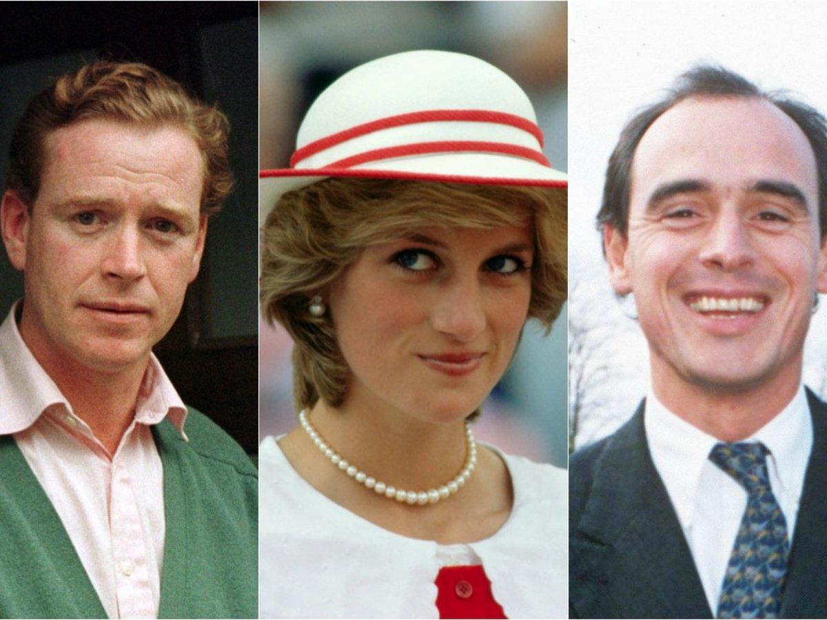 Princess Diana Affairs All The Men Diana Was Linked To
