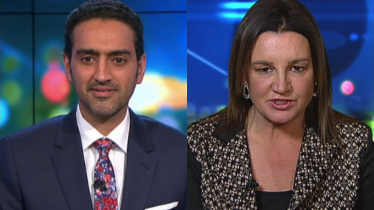 """If you've got nothing to hide."" Waleed Aly and Jacqui Lambie's heated exchange over random drug testing, & more in news in 5."