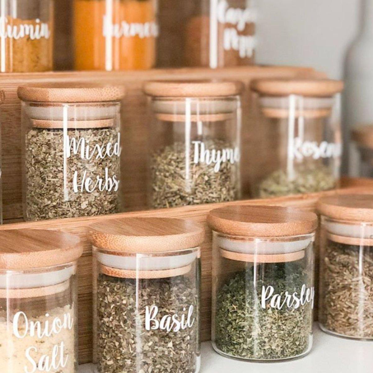 The 36 Diy Kmart Wooden Spice Rack Hack Organisers Love