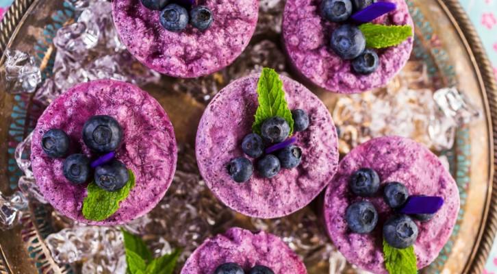 Otroligt god (och enkel!) blåbärsglass på 3 ingredienser