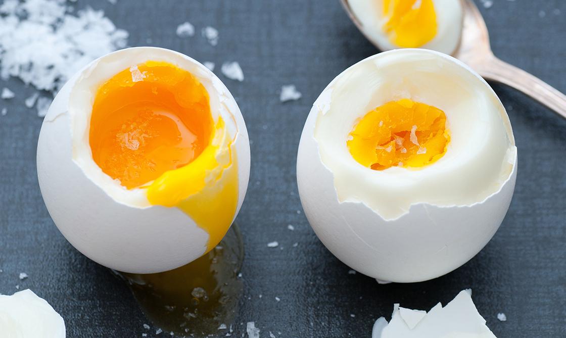 Egg boiled