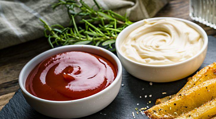 Att tänka på när du väljer tillbehör: ketchup och majonäs
