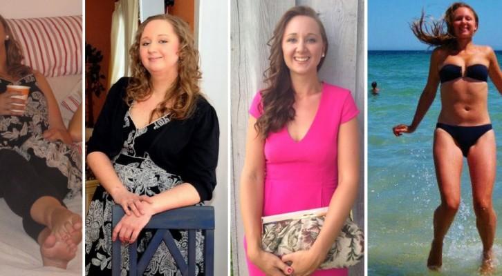 före och efter bilder viktnedgång