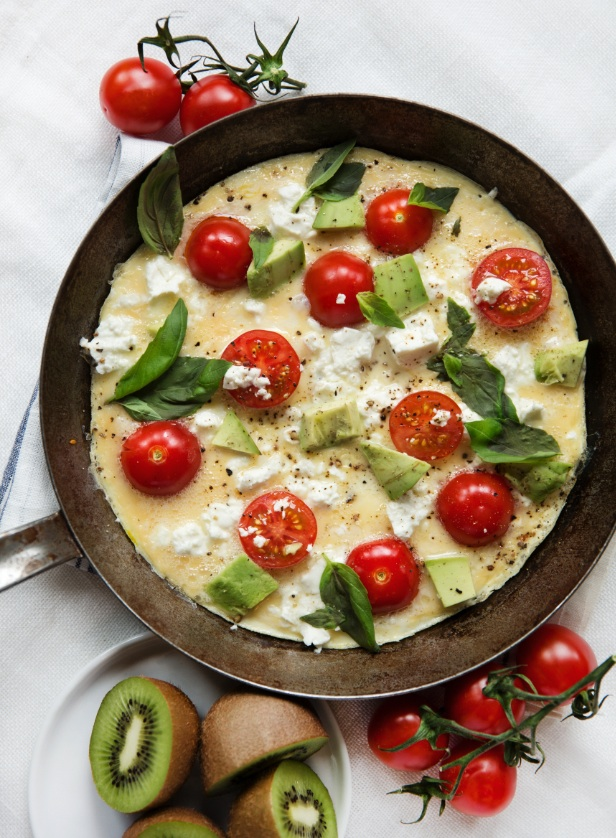 Omelett start