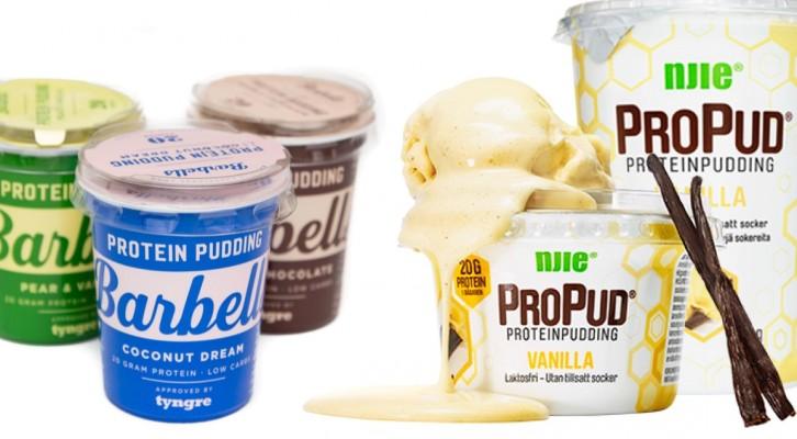 Proteinpuddingar, hälsosamt eller bara onödigt?