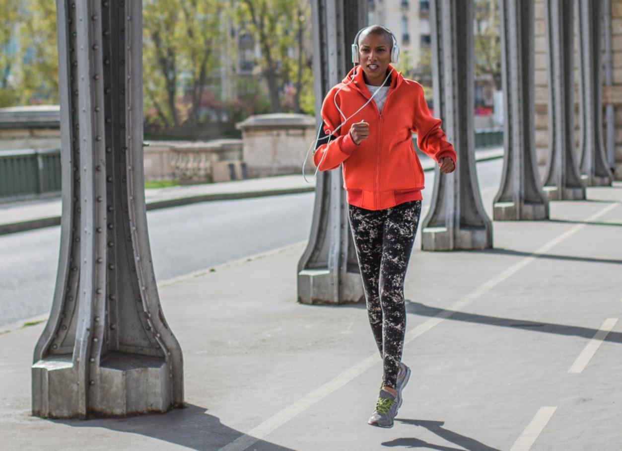 Running start girl