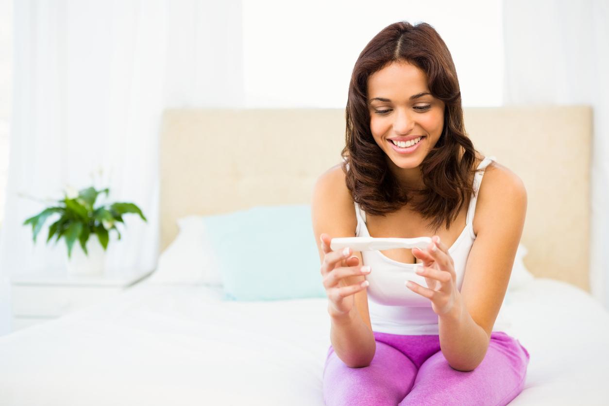 Positivt graviditetstest