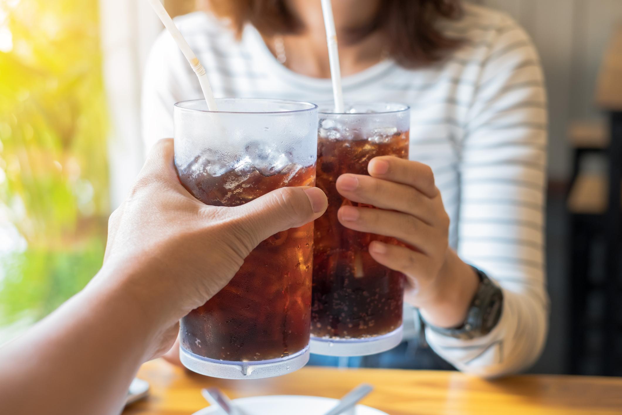 dricka cola gravid