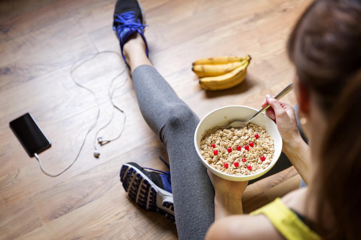vad ska man äta innan styrketräning